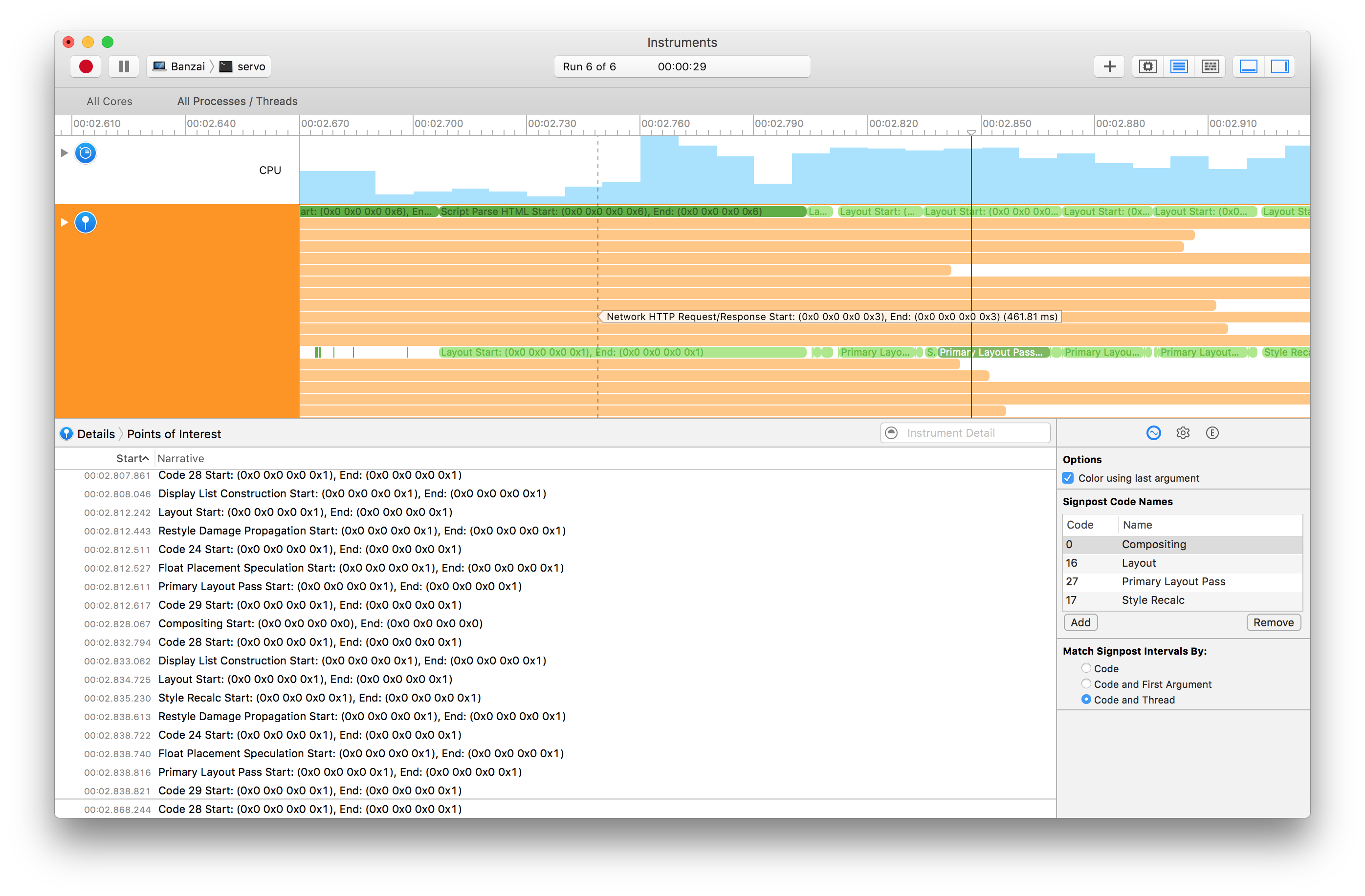 New time profiler support for macOS signpost event reporting